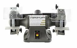 """Palmgren 6"""" 1/3HP 115/230V grinder with dust collection"""