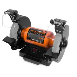 4.8 Amp 8 in. Bench Grinder with LED Work Lights and Quenchi