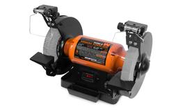 WEN 4.8-Amp 8-Inch Bench Grinder with Led Work Lights and Qu