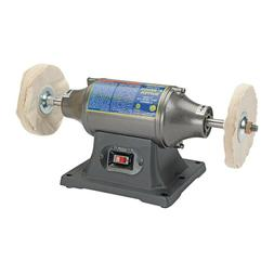 """6"""" INCH BENCH  TOP BUFFING MACHINE POLISHER  SMOOTHING Scrat"""