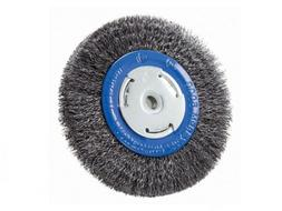 """6"""" Inch Crimped Wire Wheel for Bench Grinder Deburring 2"""", 1"""