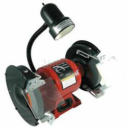 """8"""" Bench Grinder with Light"""