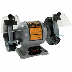 Black Bull BG6UL 6 Inch Bench Grinder - 1/2 HP - Includes 2