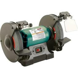 """Grizzly G0865 8"""" Bench Grinder with LED Lights"""