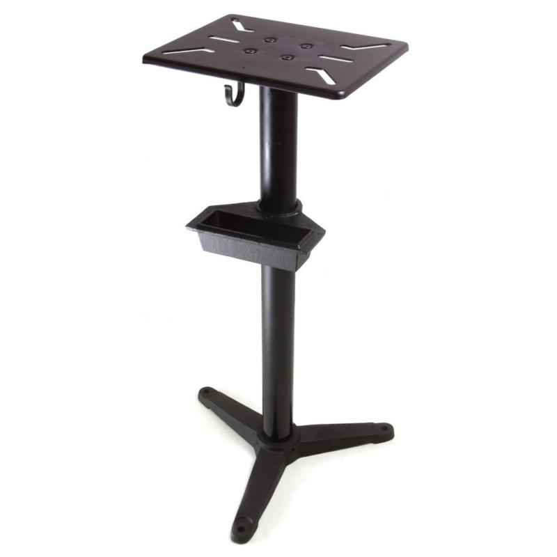bench grinder pedestal stand heavy duty stable