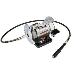 """3"""" Mini Bench Grinder with Flexshaft and Mini Toolbox"""