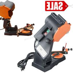 NEW ELECTRIC GRINDER CHAIN SAW BENCH SHARPENER VISE MOUNT W/