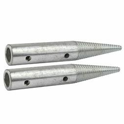 """Polishing Spindle 5/8"""" 8"""" Bench Grinder Left and Right Hand"""