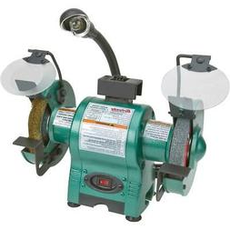 Grizzly T24463 634; Bench Grinder with Work Light