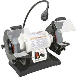 Shop Fox W1839 6-Inch 1/3 HP Variable Speed Grinder with Wor