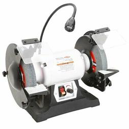 "Shop Fox W1840 8"" 3/4 HP Variable Speed Grinder with Work Li"