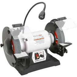 Shop Fox W1840 8-Inch 3/4 HP Variable Speed Grinder with Wor