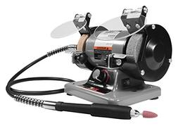 """Performance Tool W50003 3"""" Mini Bench Grinder and Polisher w"""