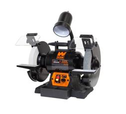 Wen 4280 5-Amp 8-Inch Variable Speed Bench Grinder with Work